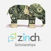 zinch com weekly scholarship Finding scholarships, grants and fellowships  scholarships for veterans and  veteran spouses & dependents  zinch $1,000 weekly scholarship.